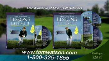 Tom Watson: Lessons of a Lifetime II DVD TV Spot - Thumbnail 9