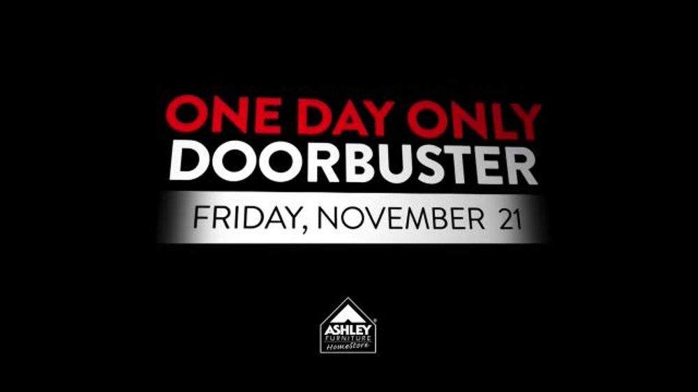 Ashley Furniture Homestore One Day Online Doorbuster Tv Commercial