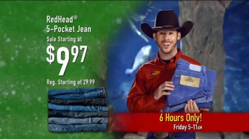 Bass Pro Shops Black Friday 6 Hour Sale TV Spot, 'Jeans, Jackets and More' - Thumbnail 3