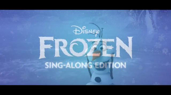 Frozen: Sing-Along Edition DVD & Digital HD TV Spot - Thumbnail 3