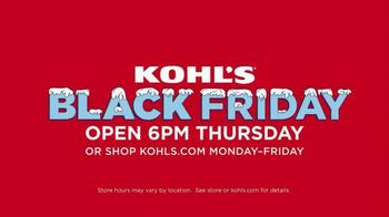 Kohl's Black Friday Deals TV Spot, 'Friday Deals on Thursday' - Thumbnail 10