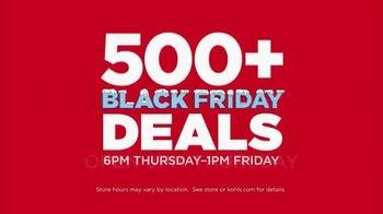 Kohl's Black Friday Deals TV Spot, 'Friday Deals on Thursday' - Thumbnail 2