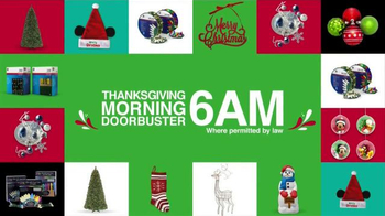 Kmart TV Spot, 'Doorbusters on Thanksgiving and Black Friday' - Thumbnail 3