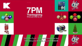 Kmart TV Spot, 'Doorbusters on Thanksgiving and Black Friday' - Thumbnail 7