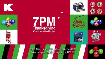Kmart TV Spot, 'Doorbusters on Thanksgiving and Black Friday' - Thumbnail 8
