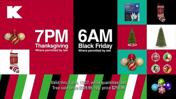 Kmart TV Spot, 'Doorbusters on Thanksgiving and Black Friday' - Thumbnail 9