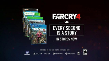 Far Cry 4 TV Spot, 'The Reviews Are In' Song by J2 - Thumbnail 9