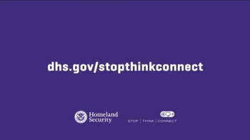 Department of Homeland Security TV Spot, 'Stop. Think. Connect: Theft' - Thumbnail 10