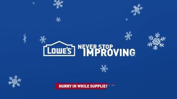 Lowe's Black Friday Deals TV Spot, 'Seven Days of Deals' - Thumbnail 9
