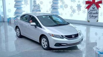 Happy Honda Days Sales Event TV Spot, 'Jem (Feat. G.I. Joe)' - Thumbnail 1