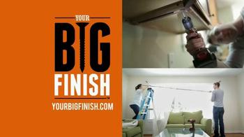 Stanley Black & Decker TV Spot, 'Your Big Finish' - Thumbnail 4