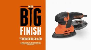 Stanley Black & Decker TV Spot, 'Your Big Finish' - Thumbnail 7