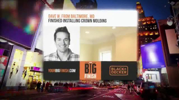 Stanley Black & Decker TV Spot, 'Your Big Finish' - Thumbnail 8