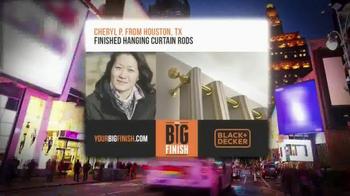 Stanley Black & Decker TV Spot, 'Your Big Finish' - Thumbnail 9