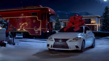 Lexus December to Remember Sales Event TV Spot, 'Christmas Train' - 1248 commercial airings