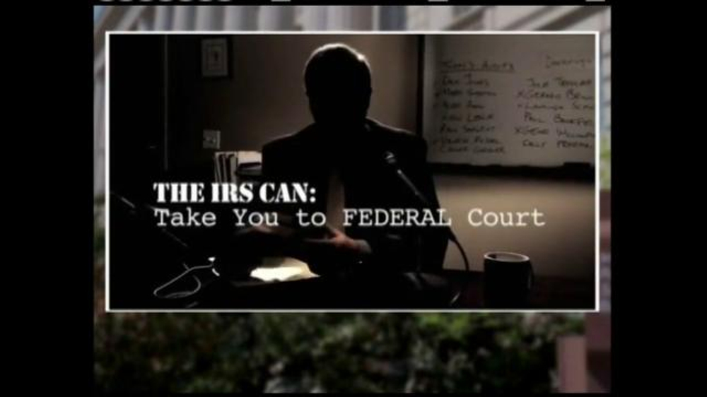 Call the Tax Doctor TV Commercial, 'An IRS Agent's Confessions'