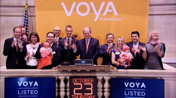 New York Stock Exchange TV Spot, 'Voya' - Thumbnail 1