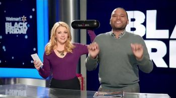Walmart TV Spot, 'Black Friday' Feat. Anthony Anderson & Melissa Joan Hart - 1073 commercial airings