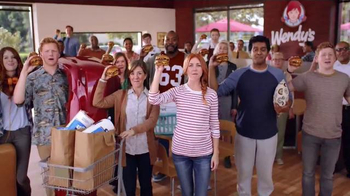 Wendy's Bacon Portabella Melt TV Spot, 'Earned It' - 3933 commercial airings