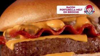 Wendy's Bacon Portabella Melt TV Spot, 'Earned It' - Thumbnail 8