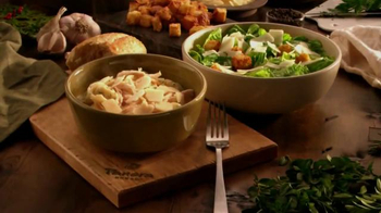 Panera Bread Chicken Tortelli Alfredo TV Spot, 'Comfort and Joy'