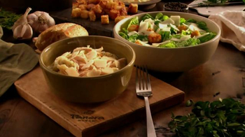 Panera Bread Chicken Tortelli Alfredo TV Spot, 'Comfort and Joy' - Thumbnail 9