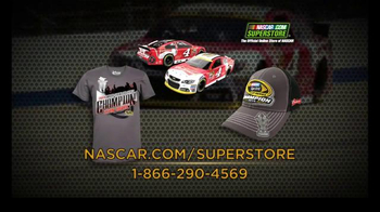NASCAR.com Superstore TV Spot, 'Congrats to Kevin Harvick' - Thumbnail 6