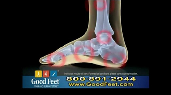 Good Feet TV Spot, 'Take Away the Pain' - Thumbnail 3