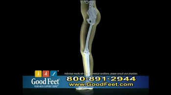 Good Feet TV Spot, 'Take Away the Pain' - Thumbnail 4
