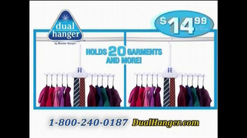 Dual Hanger TV Spot, 'Quadruple Closet Space' - Thumbnail 6