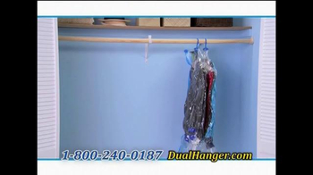 Dual Hanger TV Spot, 'Quadruple Closet Space' - Thumbnail 7