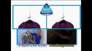 Dual Hanger TV Spot, 'Quadruple Closet Space' - Thumbnail 8