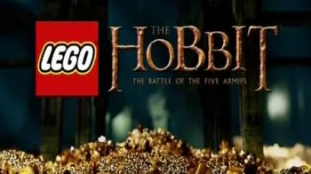 LEGO The Hobbit Lonely Mountain Set TV Spot, 'Explode the Dragon'