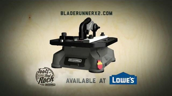 Rockwell BladeRunner X2 Portable Tabletop Saw TV Spot, 'Cut Anything'