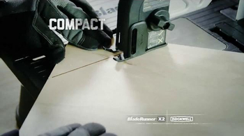Rockwell BladeRunner X2 Portable Tabletop Saw TV Spot, 'Cut Anything' - Thumbnail 4