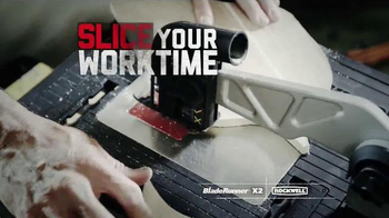 Rockwell BladeRunner X2 Portable Tabletop Saw TV Spot, 'Cut Anything' - Thumbnail 7