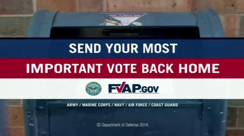U.S. Department of Defense TV Spot, 'Most Important Vote' - Thumbnail 9