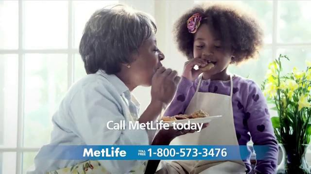 MetLife Guaranteed Acceptance Whole Life Insurance TV Commercial, 'Baking'
