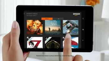 Amazon Fire HD TV Spot, 'All-You-Can-Eat Binge-Watching Buffet' - Thumbnail 5