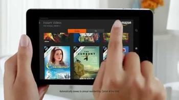 Amazon Fire HD TV Spot, 'All-You-Can-Eat Binge-Watching Buffet' - Thumbnail 6