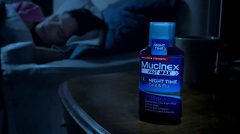 Mucinex Fast-Max Night Time TV Spot, 'Sounds Made Up' - Thumbnail 4