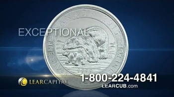 Lear Capital Silver Polar Bear Cub TV Spot, 'Polar Bear Offer'