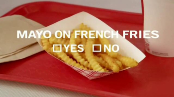 Federal Voting Assistance Program TV Spot, 'Mayo on French Fries?' - Thumbnail 9