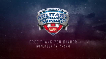 Golden Corral TV Spot, 'National Geographic: Military Appreciation Monday' - Thumbnail 9