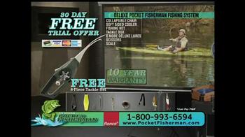 Pocket Fisherman TV Spot, 'Biggest-Selling Fishing Poles' Feat. Beau Rials - Thumbnail 9