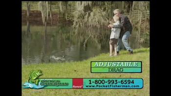 Pocket Fisherman TV Spot, 'Biggest-Selling Fishing Poles' Feat. Beau Rials - Thumbnail 3