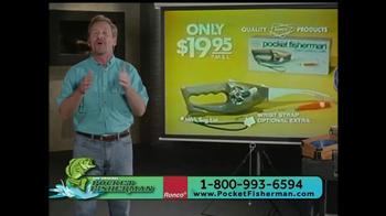 Pocket Fisherman TV Spot, 'Biggest-Selling Fishing Poles' Feat. Beau Rials - Thumbnail 6