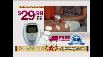 New Age Massager TV Spot, 'Pain Free Therapy' - Thumbnail 9
