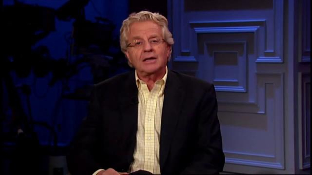 Fin Electronic Cigarettes TV Commercial Featuring Jerry Springer