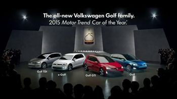 Volkswagen Golf Family TV Spot, 'Podium Race' Song by The Strokes